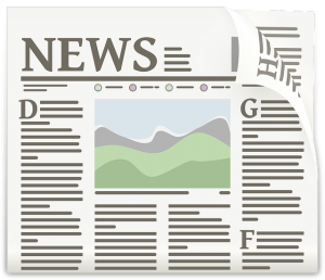 Ikonisierte Zeitung