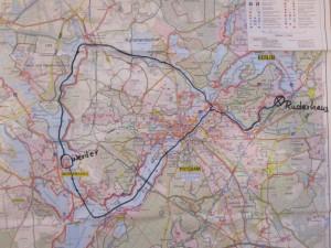 1- 50 km Rundfahrt in 3 Tagen